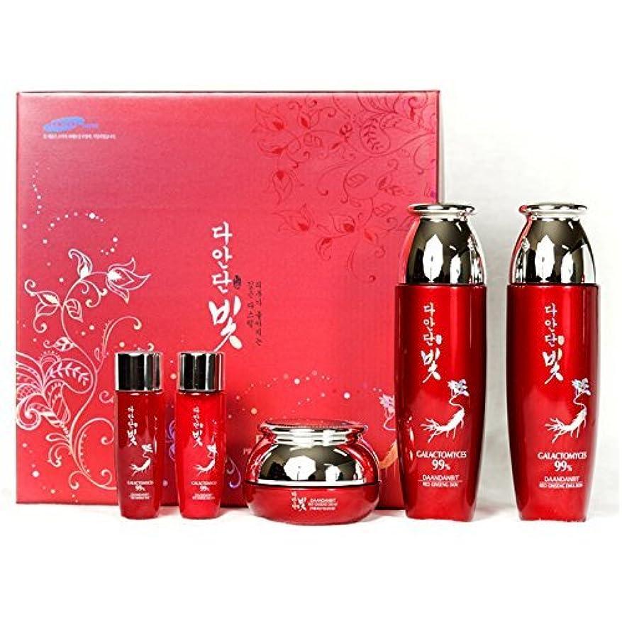 論理的に透けるなぞらえる[韓国コスメDaandanbit]Premium Red Ginseng skin care Set プレミアムレッドジンセンスキンケア4セット,樹液/乳液/クリーム/ BBクリーム [並行輸入品]