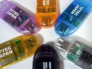 変換名人 コンパクトでしかもSDHC-32GB対応高速USBカードリーダー