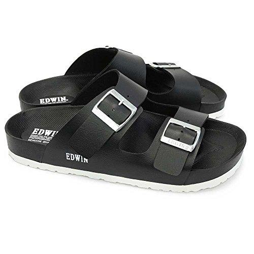 サンダル サイズ:27.0cm カラー :ブラック メンズ EDWIN エドウィン (EW9001) お取り寄せ商品