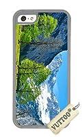 iPhone 5CケースVUTTOO スタイリッシュオーストリアアルプスソフトケース iPhone 5C専用ケース(透明な) [並行輸入品]