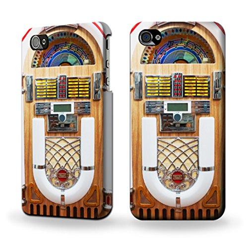 JP2853IP5C ジュークボックス - 自動レトロな音楽再生デバイス Jukebox Music Playing Device IPHONE 5C ケース