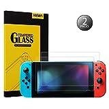 (ケテン)Keten Nintendo Switch フィルム 任天堂ニンテンドースイッチ ガラスフィルム 日本語説明書付 硬度9H 0.2mm超薄 99%の透過性 耐衝撃 撥油性 耐指紋 飛散防止保護フィルム(2枚入り)
