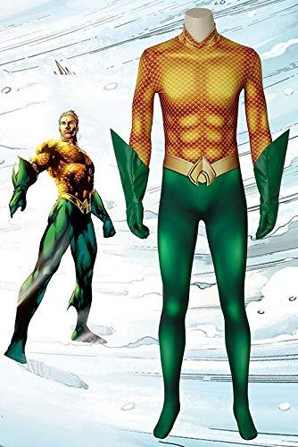 アクアマン Aquaman アーサー・カリー/アクアマン コスプレ衣装 cosplay