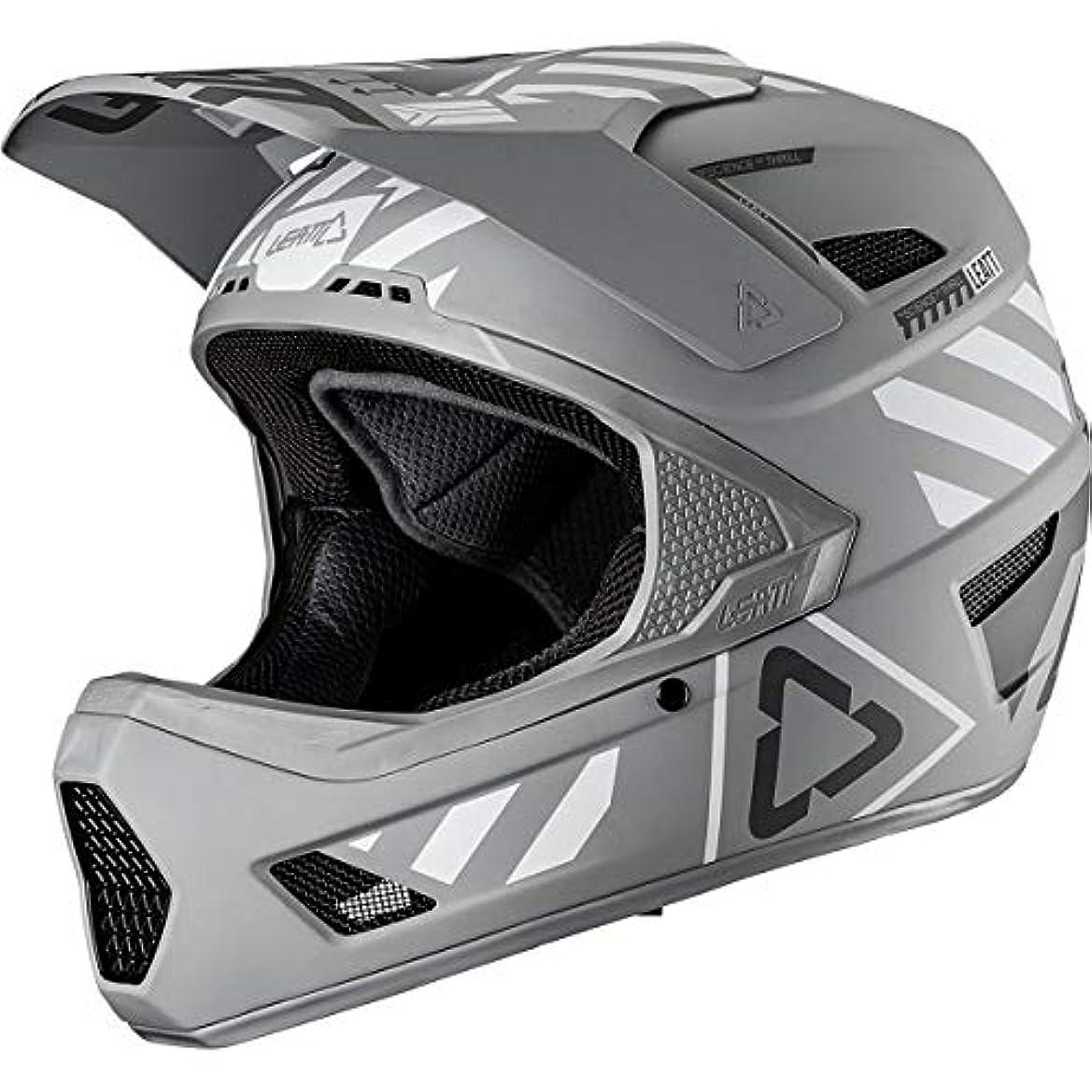 時折どっちでも臨検Leatt DBX 4.0 V19.3アダルトオフロードBMXサイクリングヘルメット - スチール/ラージ