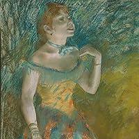 Journal: Original artwork of Edgar Degas Blank lined journal. opera singer