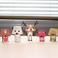 Papertoy Paper Animals - The Christmas Creatures