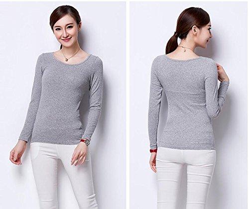 [해외](Pink17 °) 컵있는 T 셔츠 니트 브라 톱 넉넉한 사이즈 긴팔 3 색 4 사이즈 150/(Pink 17 °) T-shirts with cups Cut and sewn bra tops Comfortable size Long sleeves 3 colors 4 sizes 150