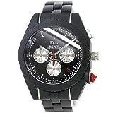 クリスチャン ディオール Christian Dior シフルルージュ CD084840 クロノグラフ メンズ 腕時計 デイト オートマ 【中古】 90077326 [並行輸入品]