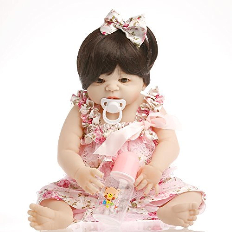 SanyDoll Rebornベビー人形ソフトSilicone 22インチ55 cm磁気Lovely Lifelike Cute Lovely Baby趣味コレクション