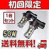 【2個セット】 LED フォグランプ F50シーマ FOG ホワイト 白 フォグライト フォグ灯 フォグ球