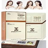 JAYJUN スキンフィットアクア ブライトニング マスク(10枚入り/JayJun Skin Fit Collagen Aqua Brightening Mask Sheet 10Pcs/HG Sticker Certified...