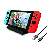 OKITI Nintendo Switch 充電スタンド ニンテンドースイッチ 充電器 Type-C 充電スタンド 充電クレードル チャージャー スタンド
