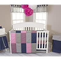 Trend Lab 3 Piece Perfectly Pretty Crib Bedding Set by Trend Lab