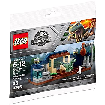 LEGO Jurassic World Baby Velociraptor Playpen 30382