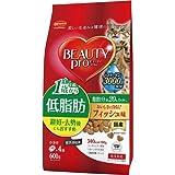 ビューティープロ 低脂肪 1歳から フィッシュ味 室内猫用 600g(150g×4袋) ペット用品 猫用食品(フード・おやつ) キャットフード(ドライフード・総合栄養食) [並行輸入品]