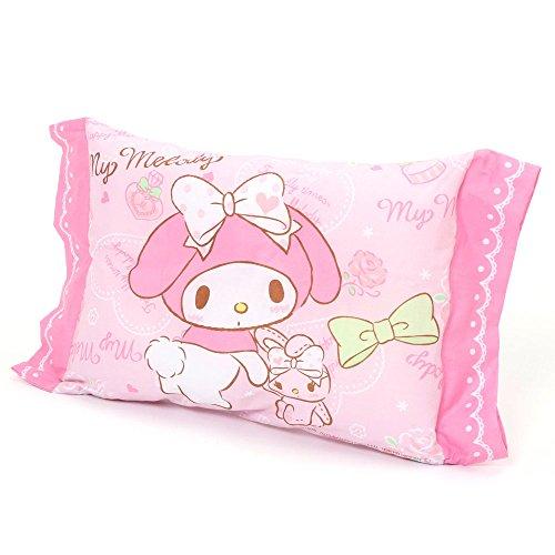 サンリオ マイメロ 子供用 枕 綿100%、中材ポリエステル100% 28×39cm モリシタ