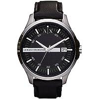 Armani Exchange Men's Analog Quartz Black Watch, (AX2101)