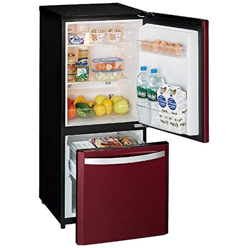 ハイアールジャパンセールス 138L 2ドア冷凍冷蔵庫 ルビーレッド ■型番:JR-NF140K(RR)