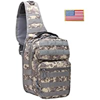 FAMI Outdoor Tactical Backpack,Tactical Sling Backpack,Tactical Shoulder Bag,Chest Pack,Crossbody Bag,Daypack, Outdoor Sport Pack Camping,Hunting, Hiking, Trekking,Cycling
