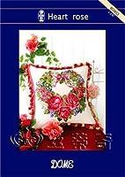 クロスステッチ刺繍(STC)キット☆Heart rose-80903