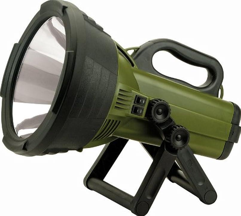 遠近法上に築きますアルプスCyclops C18Mil-Fe Thor X Colossus 18 Million Candle Power Rechargeable Spotlight