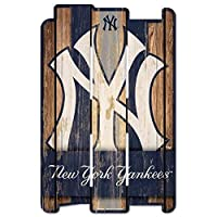 (New York Yankees) - MLB Wood Fence Sign