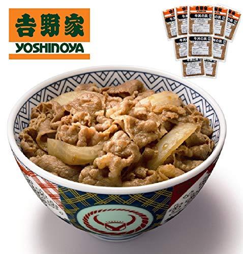 【話題商品!】吉野家 冷凍牛丼の具 10食入り(レンジ・湯煎対応)