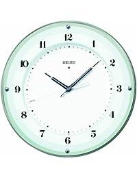 セイコー クロック 掛け時計 電波 アナログ 薄緑 KX380S SEIKO