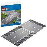 レゴ(LEGO) シティ ロードプレート 直線道路とT字路 60236