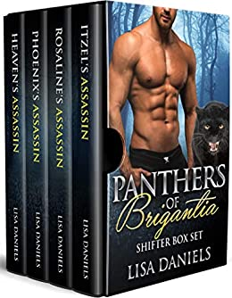 Panthers of Brigantia Shifter Box Set by [Daniels, Lisa]