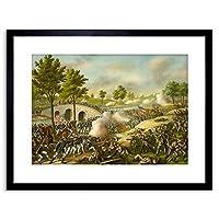 War American Civil Battle Antietam USA New Framed Wall Art Print アメリカ合衆国