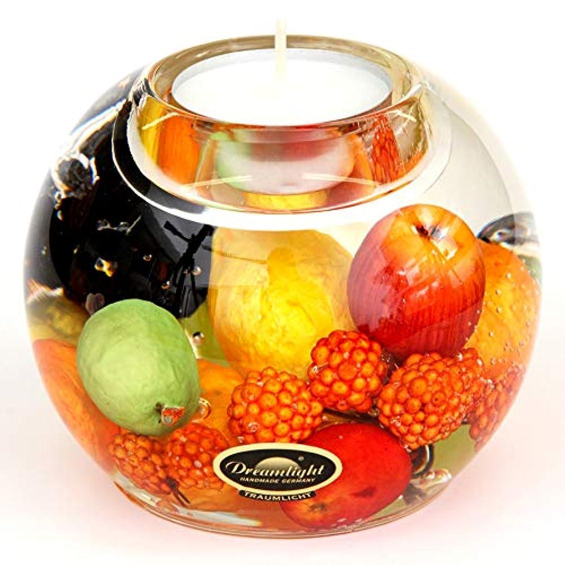 抑制する織機ダースドリームライト マーキュリー ハッピーフルーツ キャンドルホルダー ガラス キャンドルスタンド