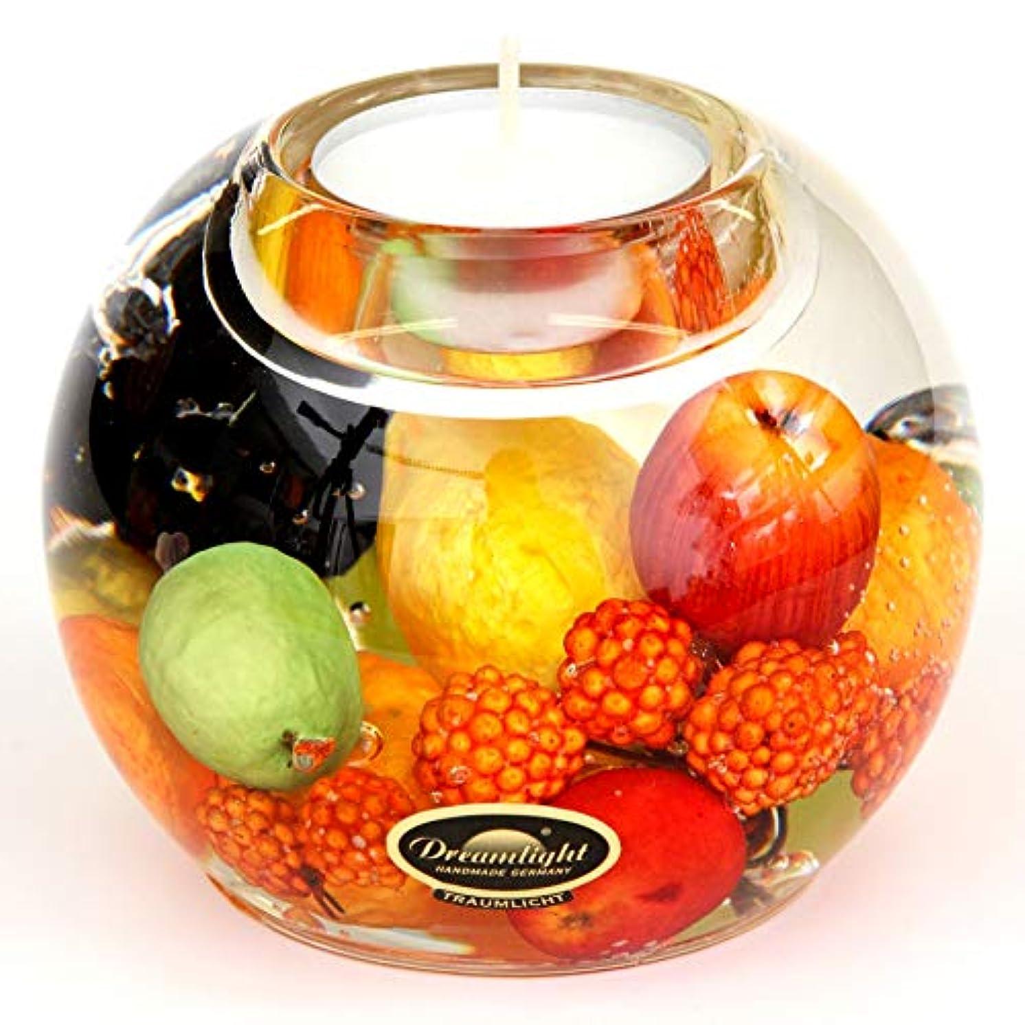 フルーツ野菜銛秀でるドリームライト マーキュリー ハッピーフルーツ キャンドルホルダー ガラス キャンドルスタンド