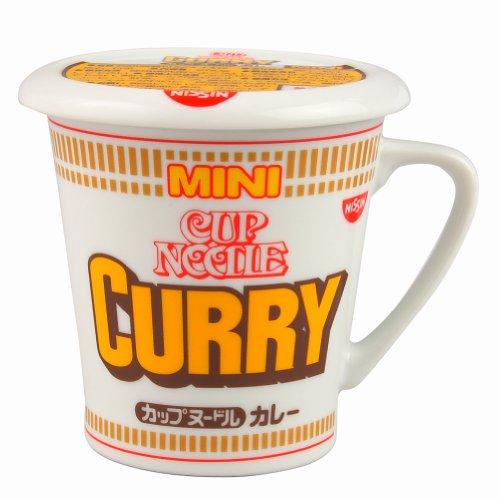 カネミ美和 日清カップヌードル カレー 蓋付きマグカップ