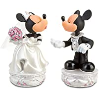 WDW / Disneyland ?Minnie and Mickey Mouse Bobble Heads Wedding Set (ミニー & ミッキーマウス?ボブルヘッド?ウェディング?セット)