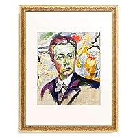 ロベール・ドローネー Robert Delaunay 「Selbstbildnis. 1906」 額装アート作品