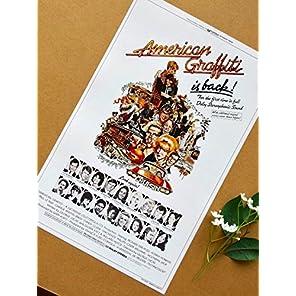 小ポスター、米国版「アメリカン・グラフィティ」
