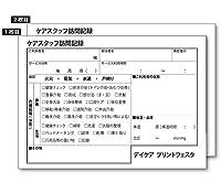 A5版 2枚複写同版 (社名印刷) 訪問介護伝票 30冊(1冊50組)