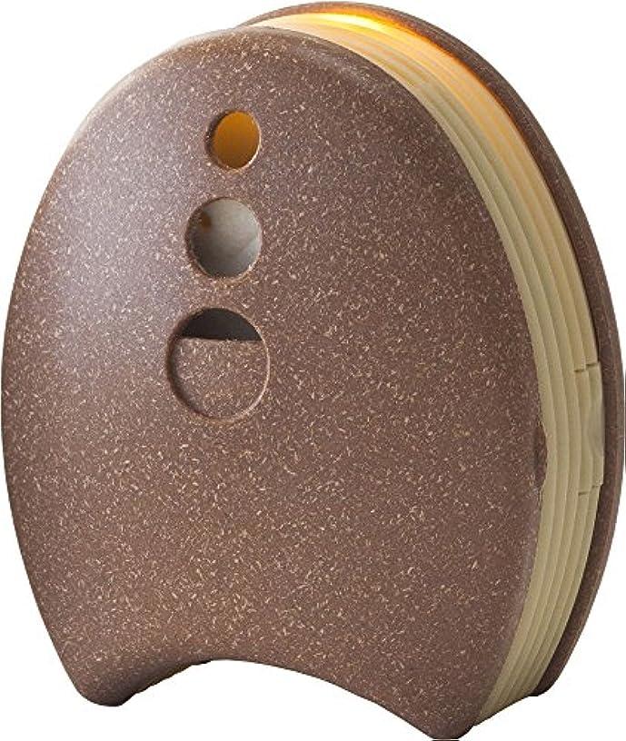 味付け理想的反逆ウッドブリーズ Ecomini (エコミニ) T 木質ブラウン