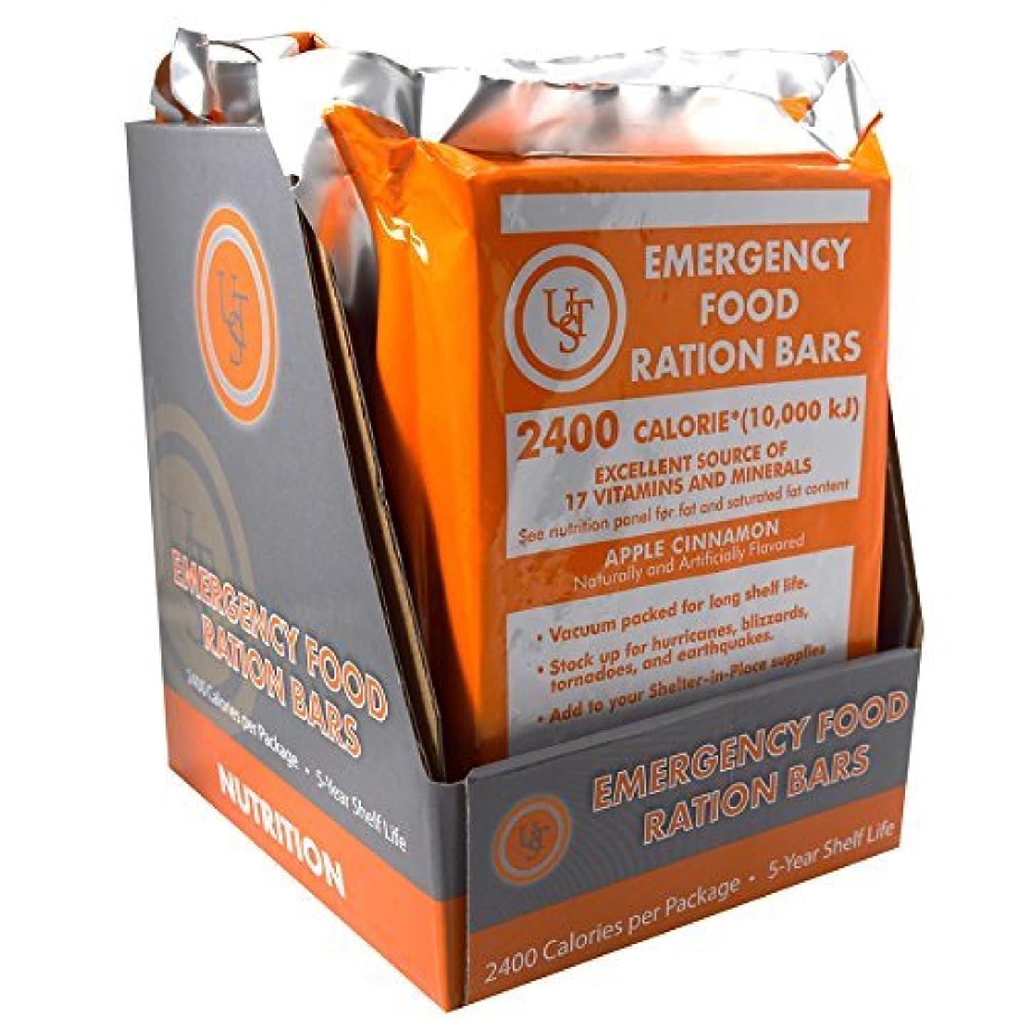 ほぼ概して着るUST Emergency Food Ration Bars (PDQ 4-ct) [並行輸入品]
