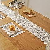 ヨーロッパの夏のテーブルランナー高級北欧シンプルなコーヒーテーブルロングテーブルクロステーブルクロスアメリカの夏の食事フラグ g (色 : 白, サイズ さいず : 22X220CM)