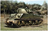 ドラゴン 1/35 第二次世界大戦 アメリカ軍 M4A3 (75)W ETO シャーマン with マジックトラック プラモデル DR6534