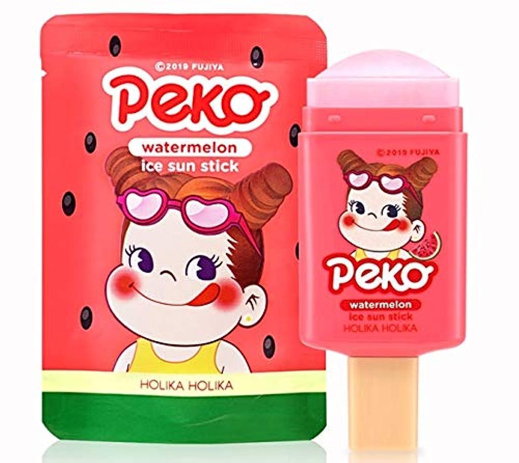 黒バルーンスコットランド人PEKO 日焼けどめスティックウォーターメロン