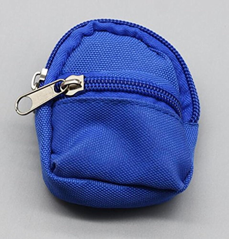 HuaQingPiJu-JP ガールドールバックパックガールドール用のかわいいスクールバッグ(ブルー)