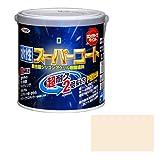 アサヒペン ペンキ 水性スーパーコート 水性多用途 ミルキーホワイト 0.7L