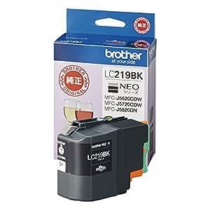 brother インクカートリッジ大容量タイプ(黒) LC219BK