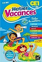 Cahiers de vacances Hatier: CE1 (vers le CE2) 7/8 ans