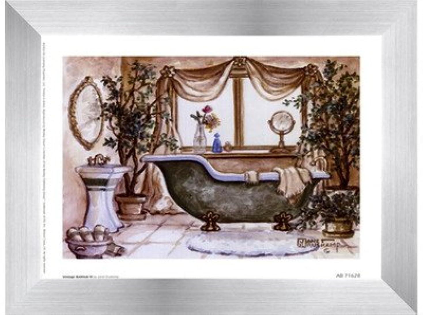 抑圧任命する同志ヴィンテージ浴槽lll by Janet Kruskamp – 8 x 6インチ – アートプリントポスター LE_66688-F9935-8x6