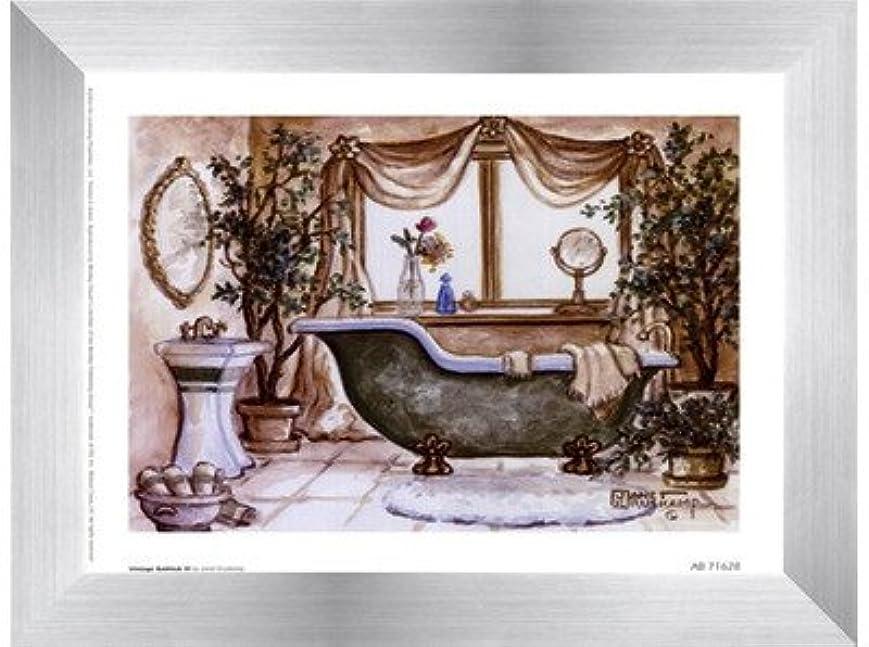 広い希少性角度ヴィンテージ浴槽lll by Janet Kruskamp – 8 x 6インチ – アートプリントポスター LE_66688-F9935-8x6