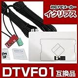 イクリプス ワンセグ/GPS一体型アンテナキット DTVF01 互換品 ナビ 載せ替え用 #P01.
